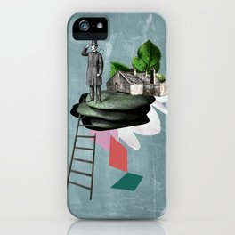 Surreal Collage iPhone Case