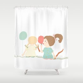 At The Carnival Shower Curtain