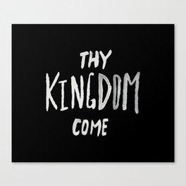 Thy Kingdom Come II Canvas Print