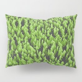 Like Blades of Grass / Large crowd of people illustration Pillow Sham