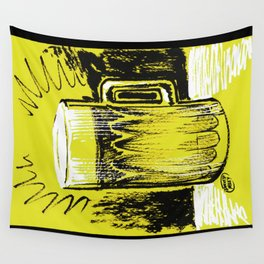 Beer_Yellow Wall Tapestry