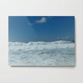 Northshore waves Metal Print