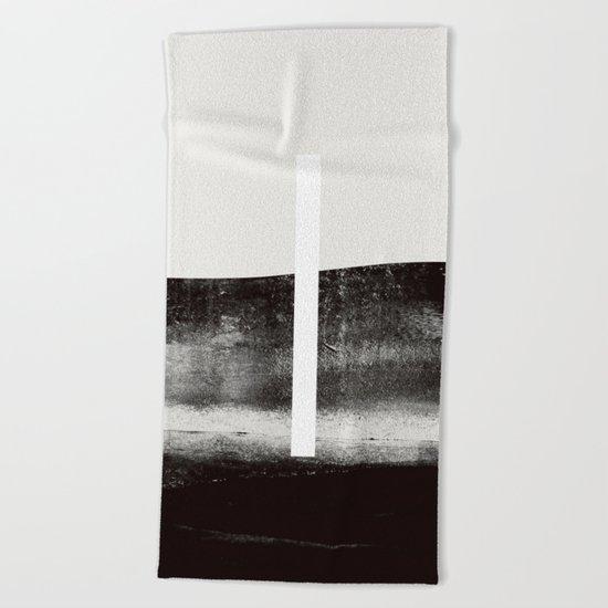 self control Beach Towel