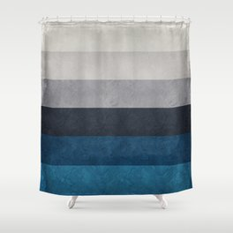Greece Hues Shower Curtain