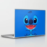 stitch Laptop & iPad Skins featuring Stitch by skyetaylorrr