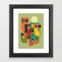 Owl squad Framed Art Print