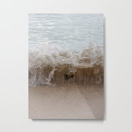 Shallow Heart Metal Print