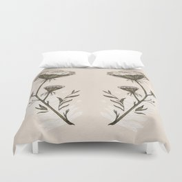 Queen Anne's Lace Duvet Cover