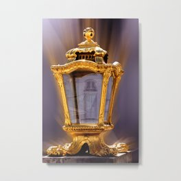 Castle Nympfenburg Munich : The golden Lantern Metal Print