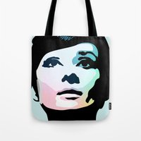 posters Tote Bags featuring Audrey Hepburn Posters by Creativehelper