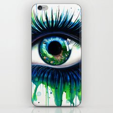 -The peacock- iPhone Skin