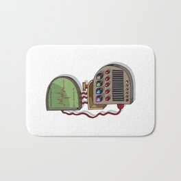 MACHINE LETTERS - B Bath Mat
