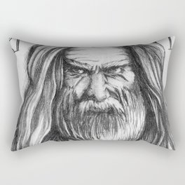 Father Time by Kate Morgan Rectangular Pillow