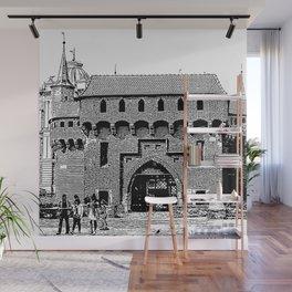 Krakow minimal city #cracow #krakow Wall Mural