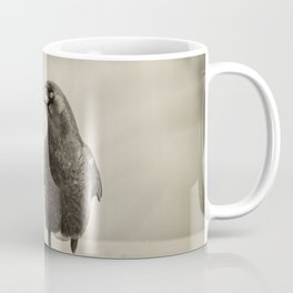 Betsy's Crow In The Snow Coffee Mug