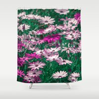 be happy Shower Curtains featuring Happy by Loredana