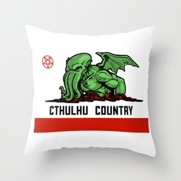 Cthulhu Country Throw Pillow