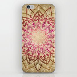 Desert Mandala iPhone Skin