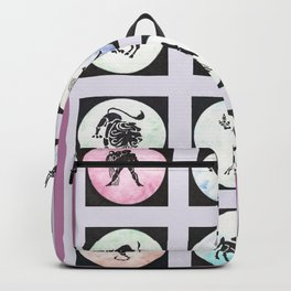 Twelve Zodiac Signs Backpack