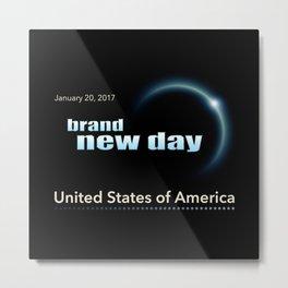 Brand New Day Metal Print