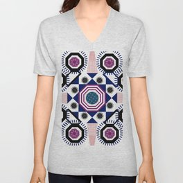 Mixed Emotions Mandala Unisex V-Neck