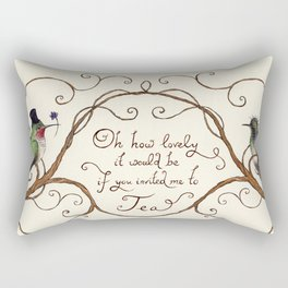 Oh How Lovely it Would Be Rectangular Pillow