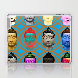 Buddha Heads Laptop & iPad Skin