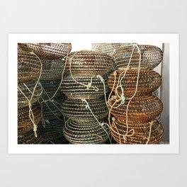 shellfish Art Print