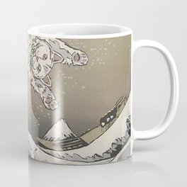 Kanagawa Cat Wave Coffee Mug