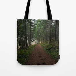 Take the fox's path - Scotland Tote Bag