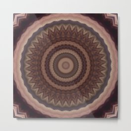 Recreational Maylanta Mandala 89 Metal Print