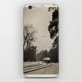 forest tram iPhone Skin