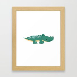 Alligator - Crocodile Framed Art Print