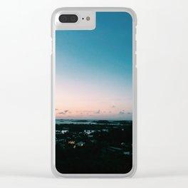 Sunsets in Bermuda Clear iPhone Case