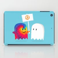hippie iPad Cases featuring Hippie ghost by Picomodi