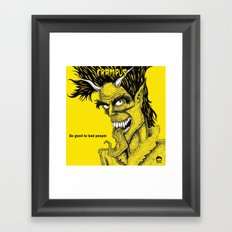 Crampus Framed Art Print