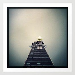 Guitarist Neil Art Print