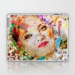 Retro Woman Laptop & iPad Skin