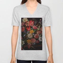 Vintage & Shabby Chic - Dutch Midnight Garden I Unisex V-Neck