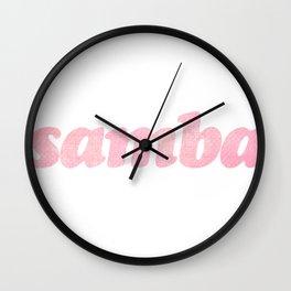 samba Wall Clock