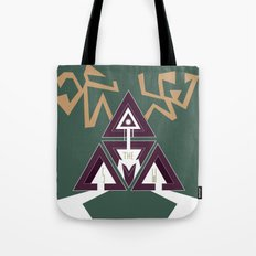 Shelter The Weak Triangles Tote Bag