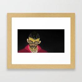 Oliver light Framed Art Print