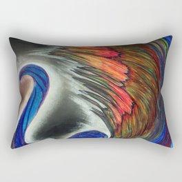 Beautiul Swan Rectangular Pillow