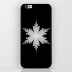 Fractal Snowflake iPhone & iPod Skin