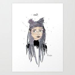 Cosmic Soul Art Print