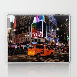 New York by night Laptop & iPad Skin
