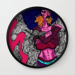 Alexandra Immortilised Wall Clock