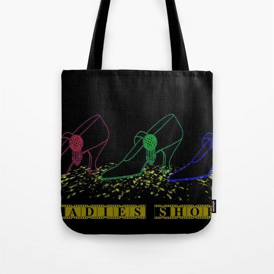 Ladies Shoes Tote Bag