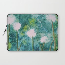 Abstract Dandelions WISH Laptop Sleeve