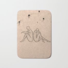 Undesired Thoughts Bath Mat